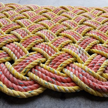 Recycled Cray Rope Mat
