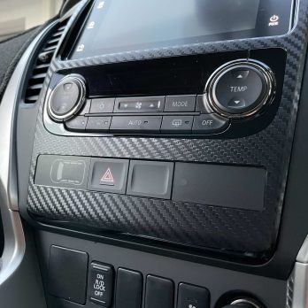 QE 2015-2019 Pajero Sport Radio Surround Decal Sticker Protection